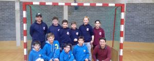 [U14] Les U14 demi-finalistes du championnat de France de Hockey en Salle !