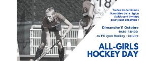 [Féminines] 11/10/20 : Invitation « ALL GIRLS HOCKEY DAY »